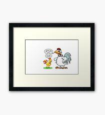 Chicken Sanders Framed Print