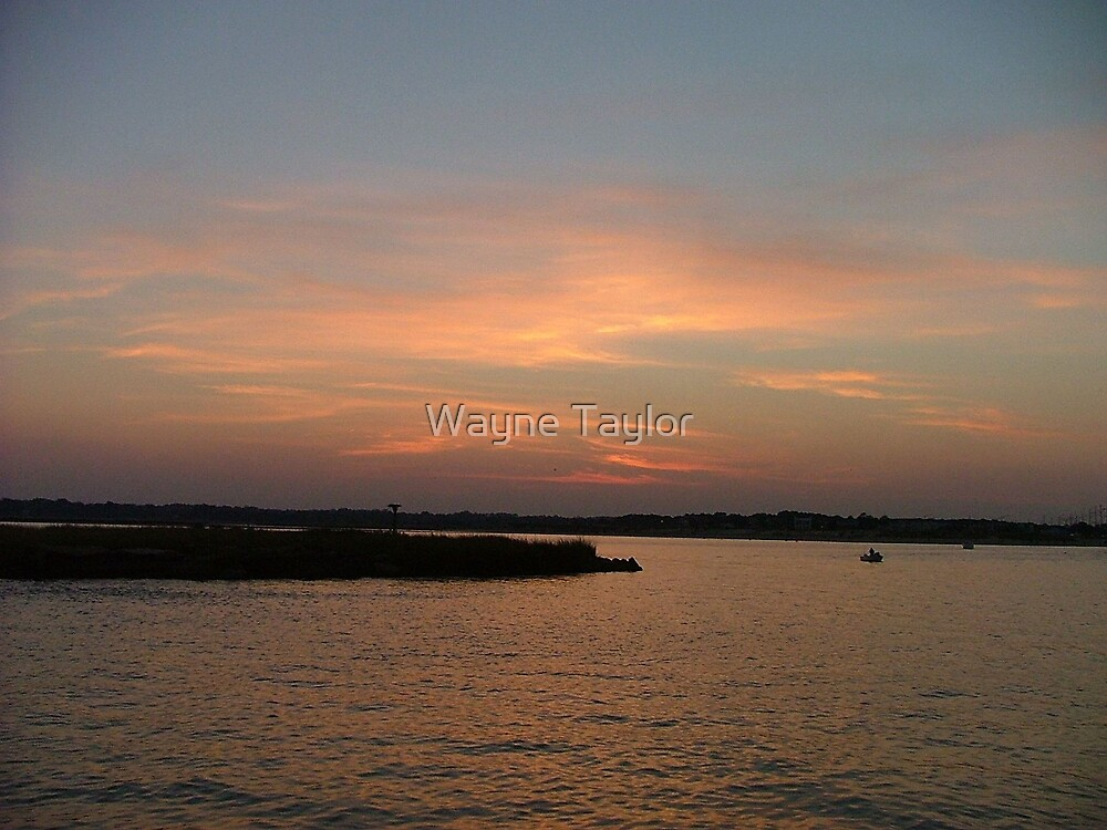 Sunset at the Beach by Wayne Taylor