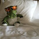 Cool Croc At The Hotel by silverdragon