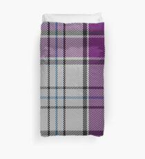 MacRae, Dress Purple (Dance) Tartan  Duvet Cover