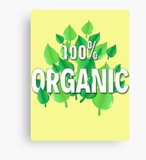 Organic design for all who care about the Earth, environment, ecology, climate and preservation Canvas Print