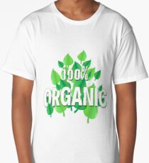 Organic design for all who care about the Earth, environment, ecology, climate and preservation Long T-Shirt