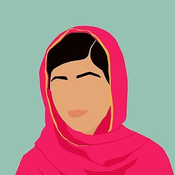 Malala - Feministische Ikonen & Inspirierende Frauen von thefilmartist