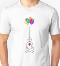 Floating Meditator Unisex T-Shirt