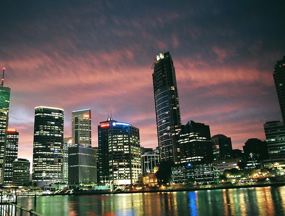 Brisbane in Colour by Adam Turner