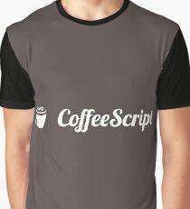 Coffeescript Graphic T-Shirt