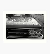 Dew on a Pontiac Art Print