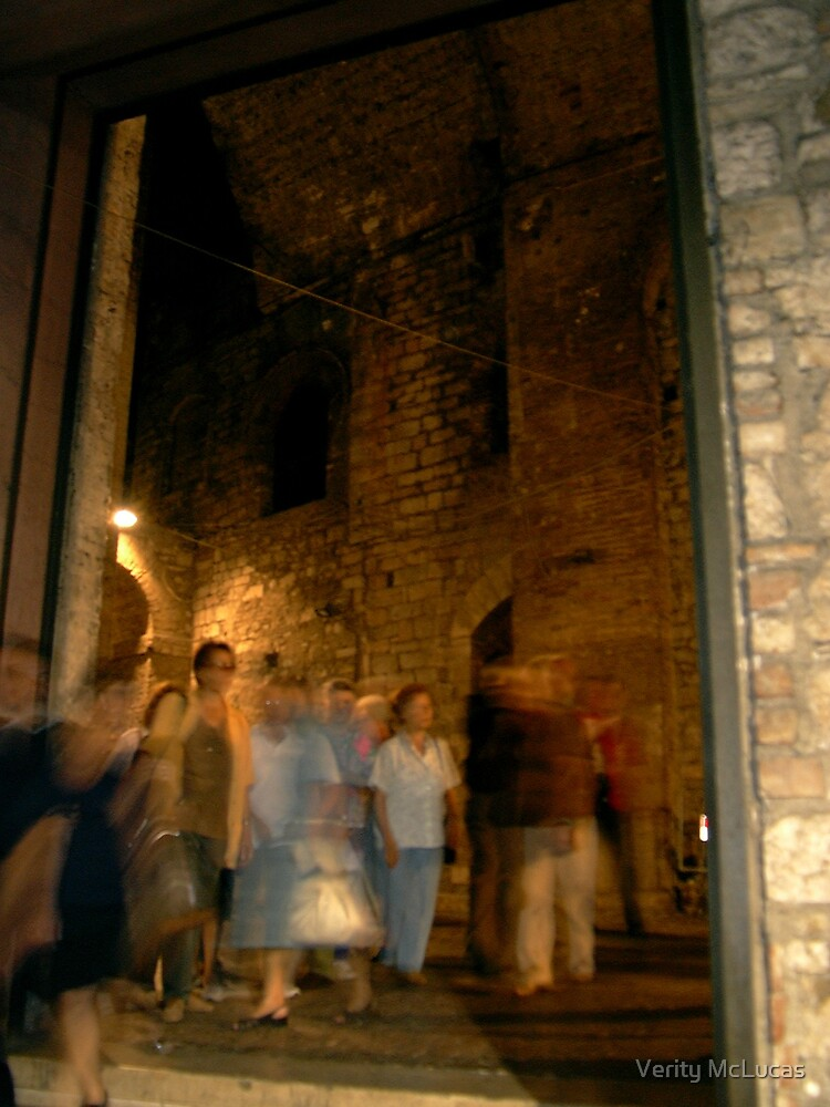 Bustle in Perugia by Verity McLucas