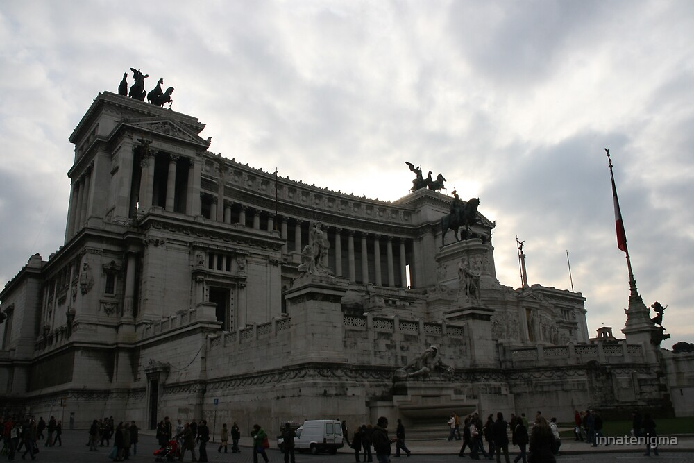 Rome under an angry sky by innatenigma