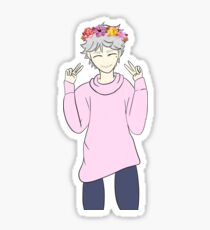 Sugawara Koushi - Flower Boy Sticker