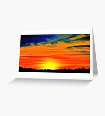 sunset dream Greeting Card