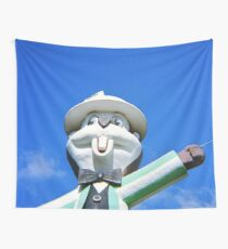 Giant Gopher Statue - Diana F+ 120mm Photograph Wall Tapestry