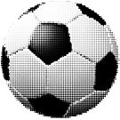 halftone football aka soccer ball by kislev