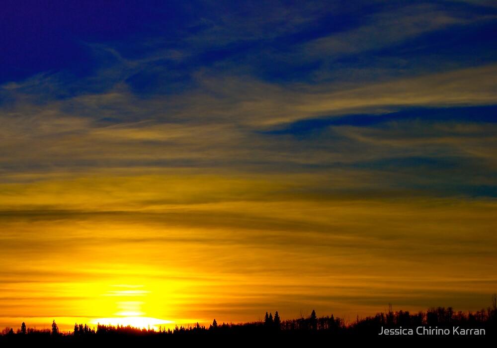 January Sunset by Jessica Chirino Karran