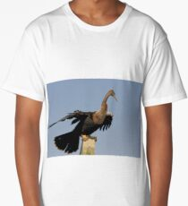 Anhinga Portrait Long T-Shirt