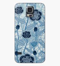 Magic Flowers - blu jeans Case/Skin for Samsung Galaxy