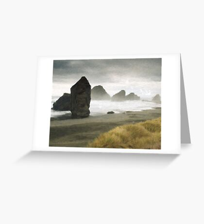 First to Shore Greeting Card