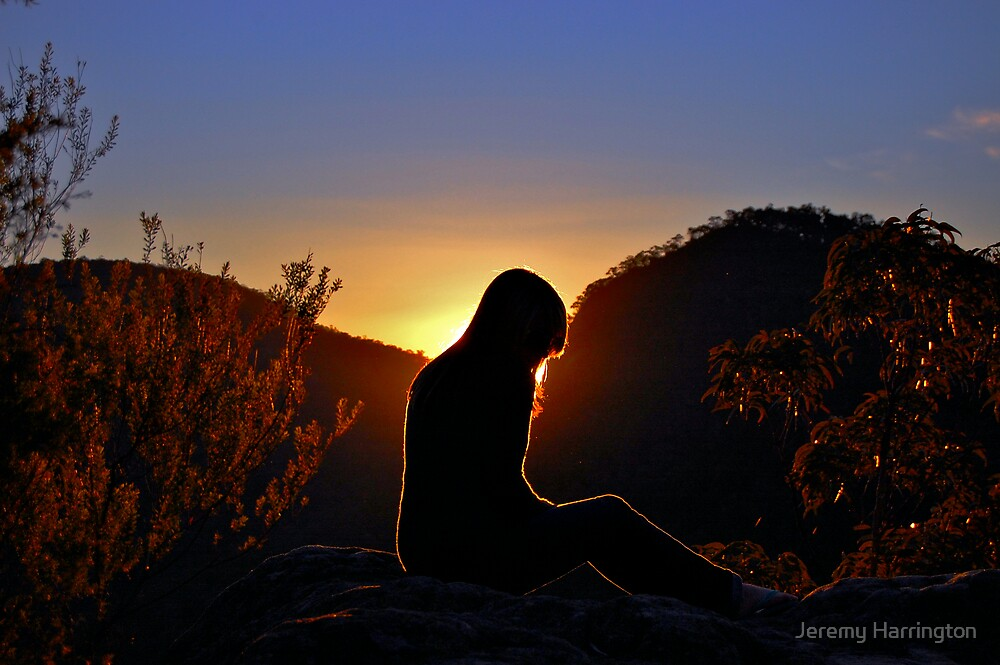 Sunshine Silhouette by Jeremy Harrington