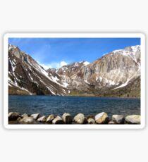 Convict Lake, Eastern Sierras Sticker
