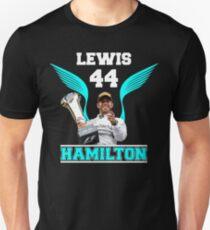 Lewis Hamilton F1 44 Unisex T-Shirt