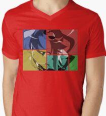 Yoko Inspired Anime Shirt Mens V-Neck T-Shirt