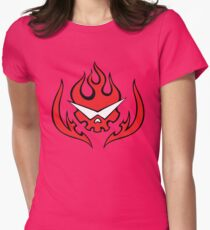 Anime Inspired Shirt Womens Fitted T-Shirt