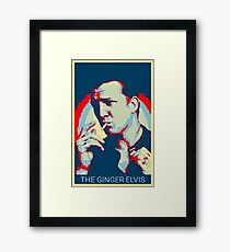 The Ginger Elvis Framed Print