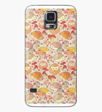 Woodland Hedgehogs - a pattern in soft neutrals  Case/Skin for Samsung Galaxy