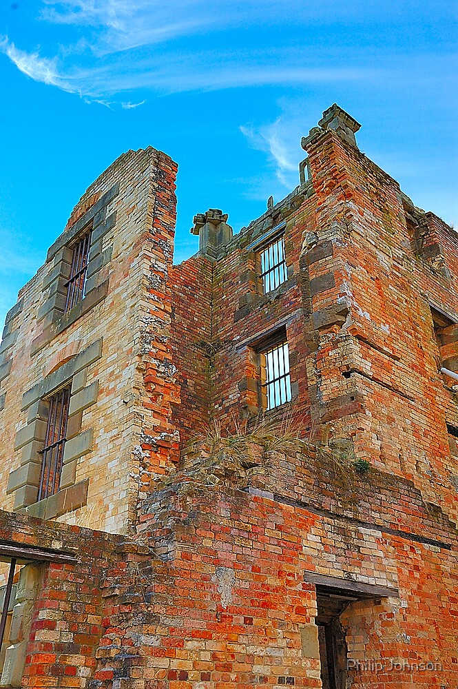 For The Term Of Their Natural Lives, Port Arthur Historic Site Tasmania Australia by Philip Johnson