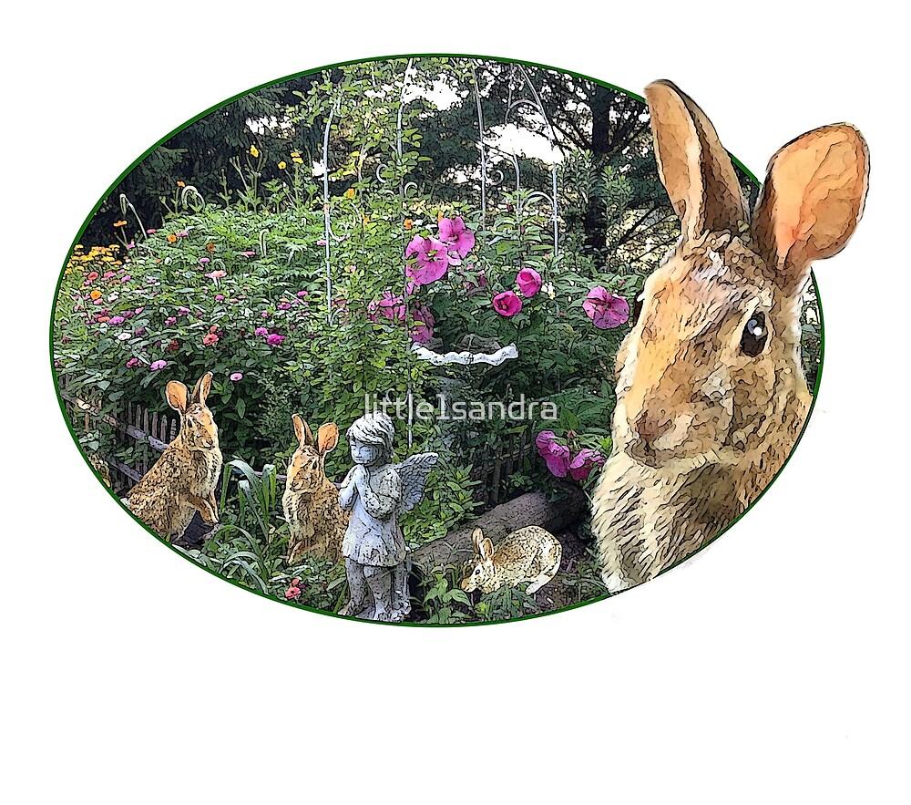 The Rabbit Garden by little1sandra