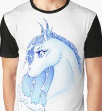 Nadi hippocamp - spirit of water (white bg vrs.) Graphic T-Shirt