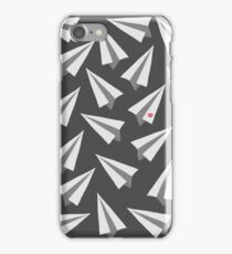 Paperman Paper Airplanes - Minimal iPhone Case/Skin
