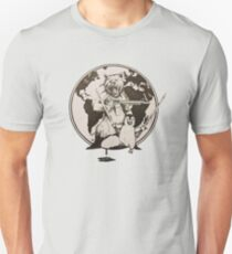 Bear and Penguin Save the World Unisex T-Shirt