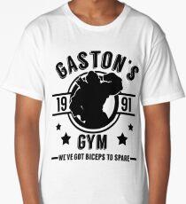 Gaston's Gym (Black Version) Long T-Shirt