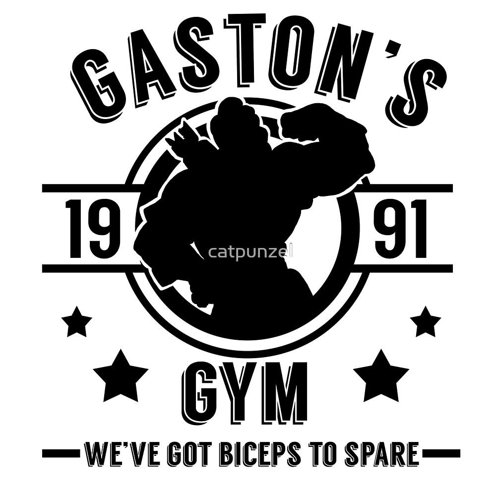 Gaston's Gym (Black Version) by catpunzel