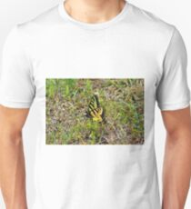 Butterfly In The Grass Unisex T-Shirt
