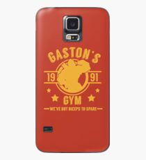 Gaston's Gym (Red & Yellow Version) Case/Skin for Samsung Galaxy