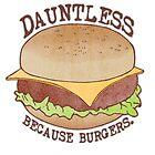 «Dauntless - Porque las hamburguesas» de Perrin Le Feuvre