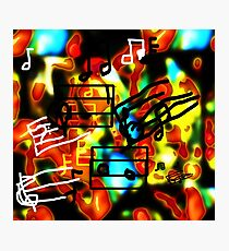 i Hear Music in the Air Photographic Print