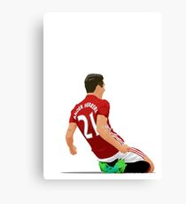 Ander Herrera - Manchester United  Canvas Print