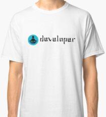 developer zen blue Classic T-Shirt