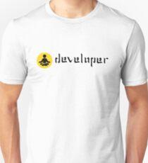 developer zen yellow Unisex T-Shirt