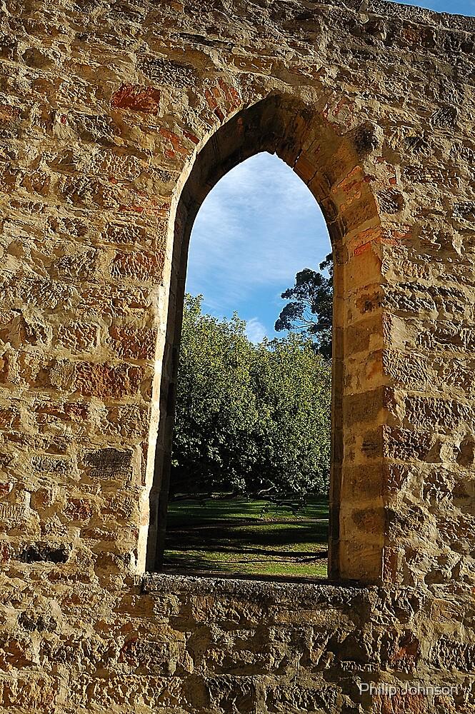 Convict View - Port Arthur Historic Park , Tasmania, Australia by Philip Johnson