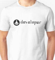 developer zen black Unisex T-Shirt
