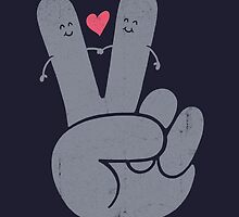 Peace & Love by Jorge Lopez