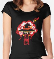 Camiseta entallada de cuello redondo EXPLOSION MAGIC! Edicion Negra