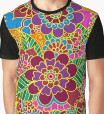 Bright Blossoms Graphic T-Shirt