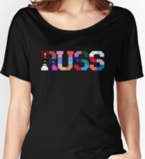 Russ Diemon Album Covers  Women's Relaxed Fit T-Shirt