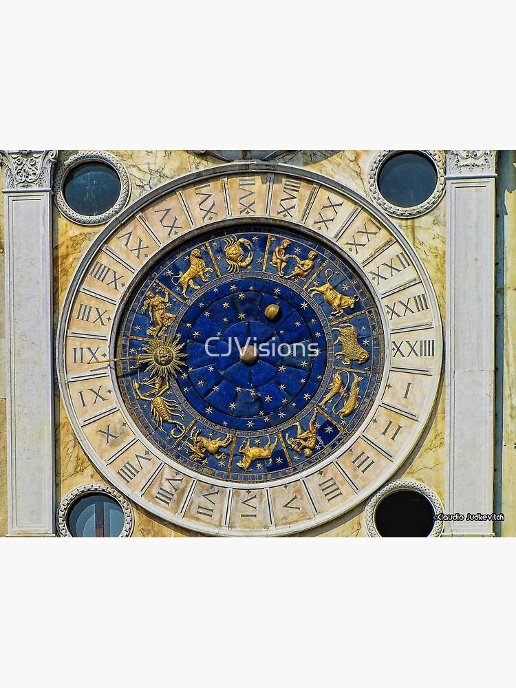 Reloj Astrológico, Venecia, Italia de CJVisions