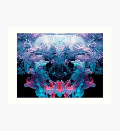 Alien Emperor Art Print